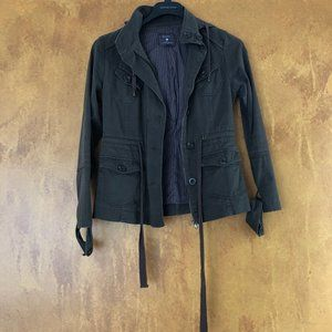 Army Green Cargo Jacket from Forever 21 Size Small